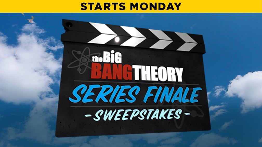 The Big Bang Theory 'Series Finale' Sweepstakes